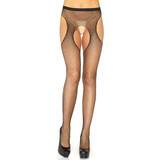 Leg Avenue Diamante Fishnet Garter Pantyhose