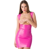 Easy-On Latex Pink Underbust Spanking Dress