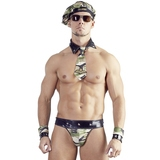 Svenjoyment Camouflage and Wet Look US Army Costume