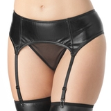 Lovehoney Fierce Wet Look Garter Belt