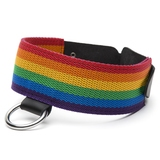 Bondage Boutique Rainbow and Leather Collar