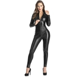 Lovehoney Fierce Wet Look Zip-Around Catsuit