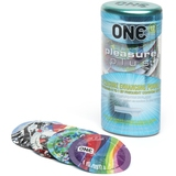 Image of ONE Pleasure Plus Condoms (12 Count)