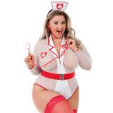 Lovehoney Fantasy Plus Size Nightshift Nurse Costume