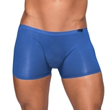 Male Power Blue Seamless Sleek Boxer Shorts