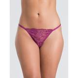 Lovehoney Flirty Plum Lace G-String