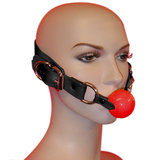 Leather Deluxe Hush Ball Gag