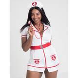 Déguisement adulte infirmière flirt grande taille, Lovehoney Fantasy