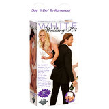 White Wedding Night Sex Toy Kit
