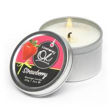 Lovehoney Oh! Strawberry Lickable Massage Candle 60g