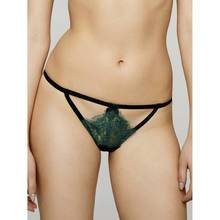 Fifty Shades Darker by Coco de Mer Goddess G-String Jade Green/Black