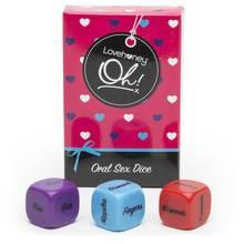 Lovehoney Oh! Oralsex-Würfel (3er Pack)