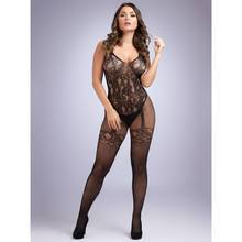 Lovehoney Crotchless All-in-One Floral Lace Bodystocking