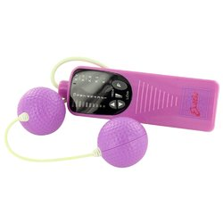 Impulse Textured Vibrating Duo Balls