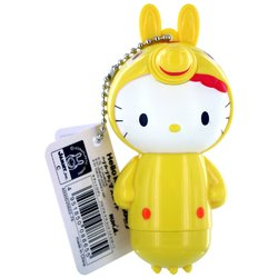 Yellow Hello Kitty Keychain