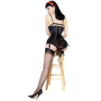 What Katie Did Retro Seamed Stockings