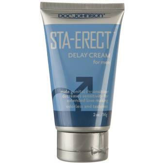 Doc Johnson Sta-Erect Delay Cream