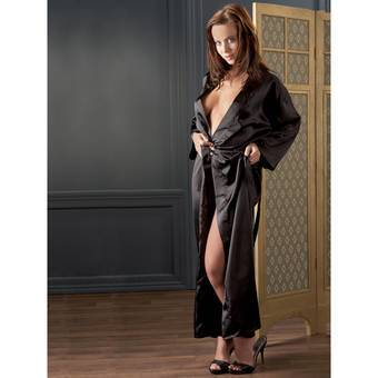 Cottelli Classic Satin Long Wrap