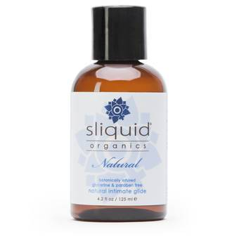 Lubrifiant naturel 125 ml par Sliquid Organics H2O