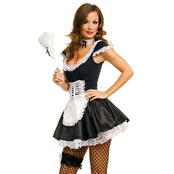 Music Legs French Maid Set