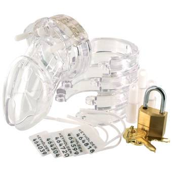 CB-6000s Short Male Chastity Cage