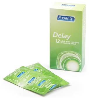 Pasante Delay Condoms (12 Pack)