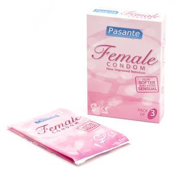Pasante Female Condoms (3 Pack)