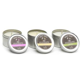 Earthly Body Trio 3-in-1 Mini Massage Candles (3 x 57g Pack)