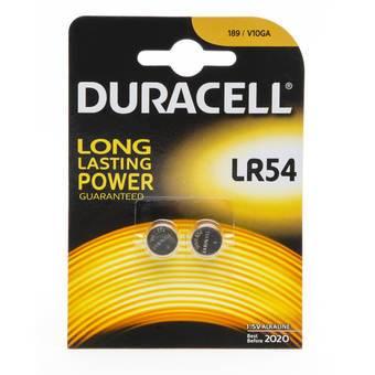Duracell Alkaline LR54 Batteries (2 Pack)