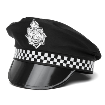 Fever Sexy Police Officer Hat | Black