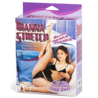 Dianna Stretch 3 Hole Deep Penetration Blow Up Sex Doll