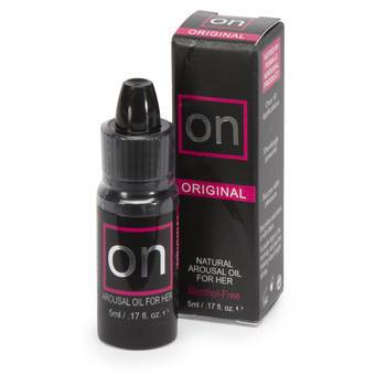 Sensuva ON Natural Arousal Orgasm Oil for Her 5ml