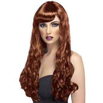 Desire Extra Long Wavy Wig with Fringe