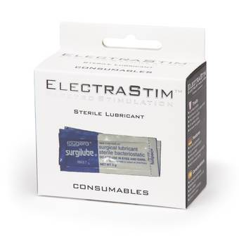 ElectraStim Sterile Lubricant Sachets 3g (10 Pack)