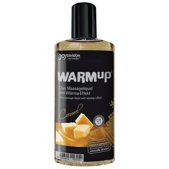 Warming Caramel Flavoured Massage Lubricant 150ml