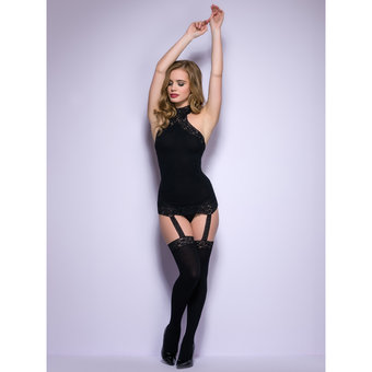 Lovehoney All-in-One Sheer Dress and Stockings Set