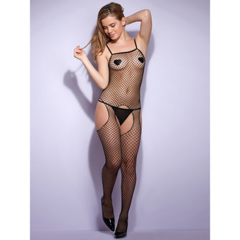 Lovehoney Industrial Fishnet Crotchless Bodystocking