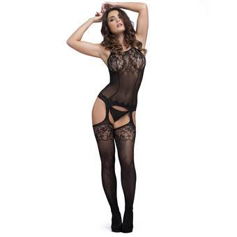 Lovehoney Fishnet and Lace Bodystocking