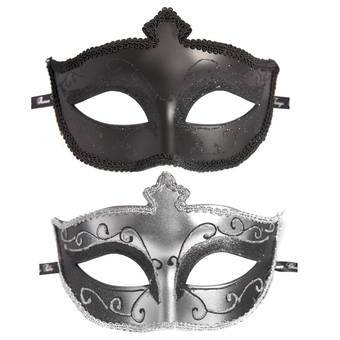 Fifty Shades of Grey Masken-Doppelpack - Masks On Masquerade