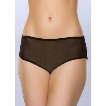 Lovehoney Open Back Sheer Lace Knickers with Straps