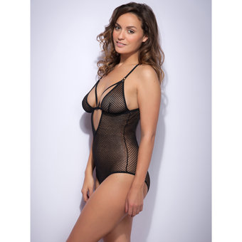 Lovehoney Covet Me Mesh Strappy Crotchless Body