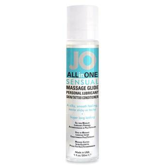 System JO Massage All-in-One Personal Lubricant 1.0 fl. oz