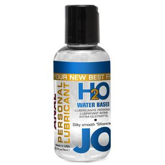 System JO H2O Water-Based Anal Lubricant