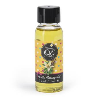Lovehoney Vanilla Flavour Edible Massage Oil 30ml