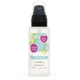 Lovehoney Discover Water-Based Anal Lubricant 100ml