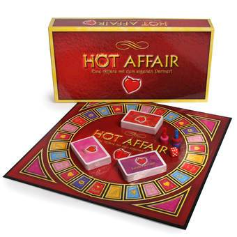Hot Affair - Pärchen-Brettspiel