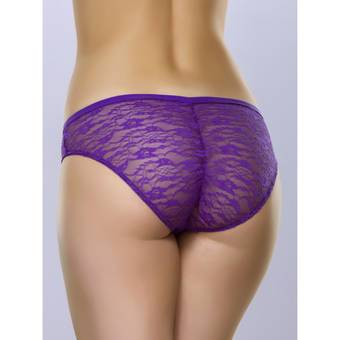 Lovehoney Flirty Purple Lace Brief