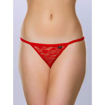 Lovehoney Flirty Red Lace G-String