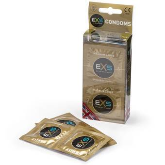 EXS Magnum Extra Large Condoms (12 Pack)