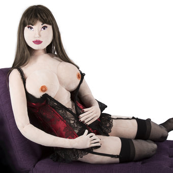 Deluxe Teddy Babe Plush Sex Doll Audrey